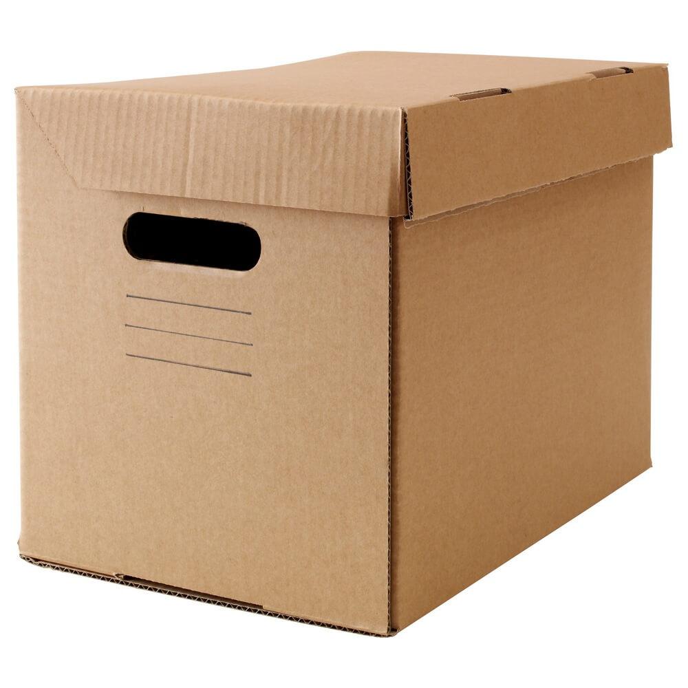 Коробка с крышкой ПАППИС