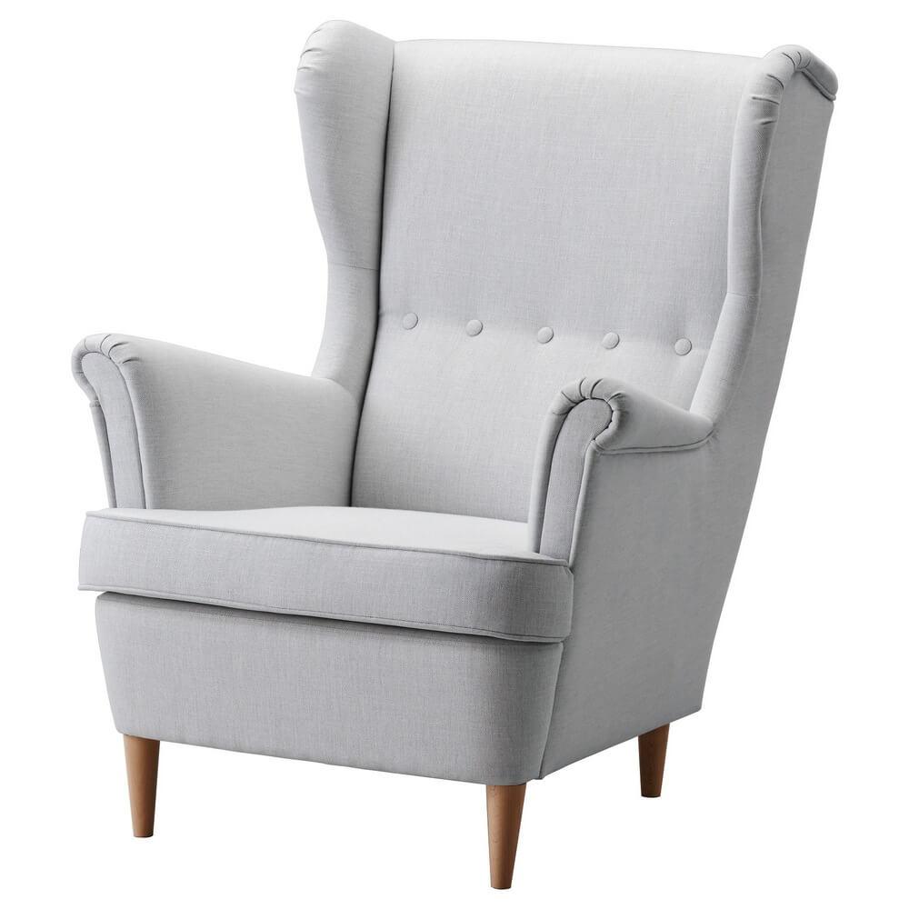 Кресло с подголовником СТРАНДМОН
