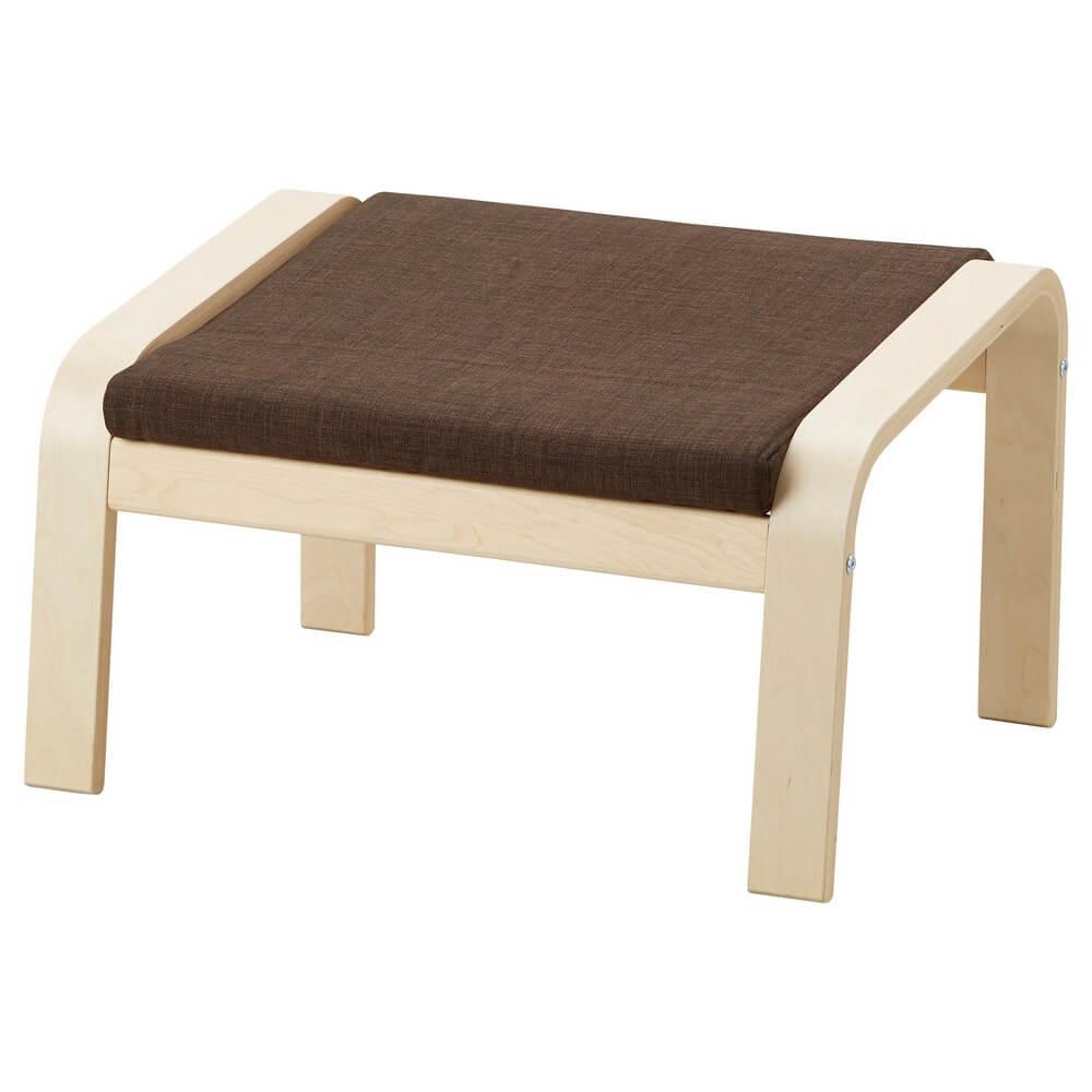 Подушка-сиденье на табурет для ног ПОЭНГ
