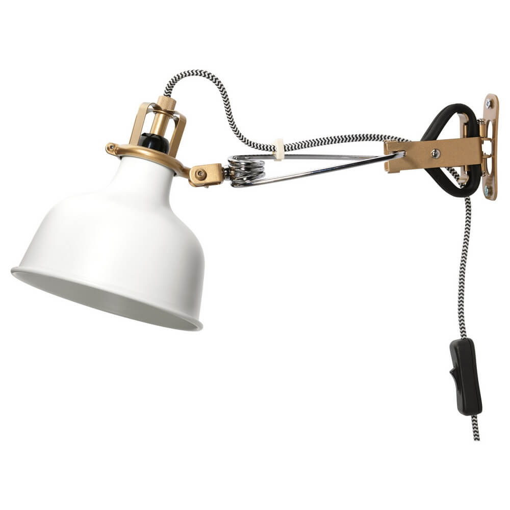 Настенный софит и лампа с зажимом РАНАРП