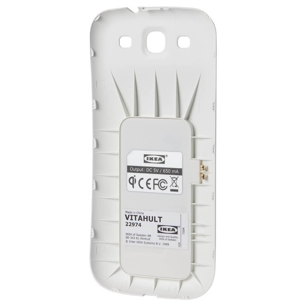 Чехол для беспроводной зарядки Samsung Galaxy S3 ВИТАХУЛЬТ