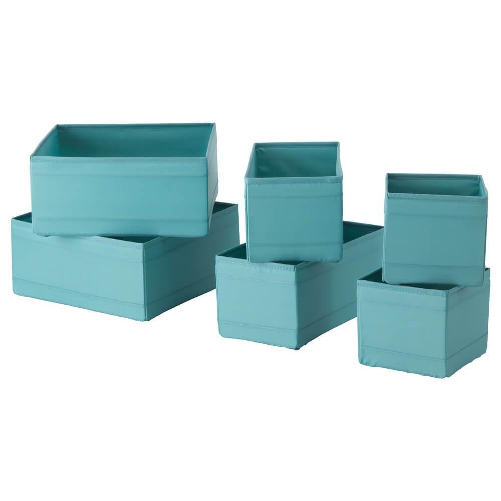 Набор коробок (6 штук) СКУББ