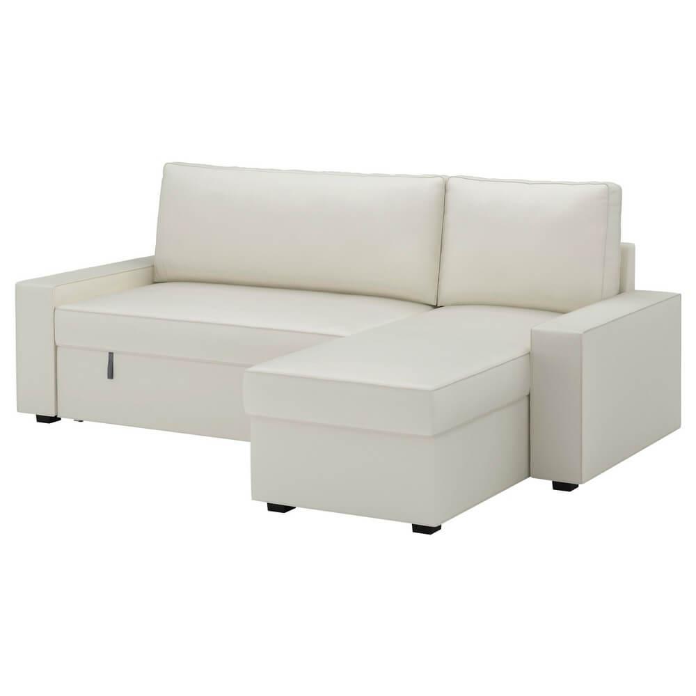 Чехол на диван-кровать с козеткой ВИЛАСУНД