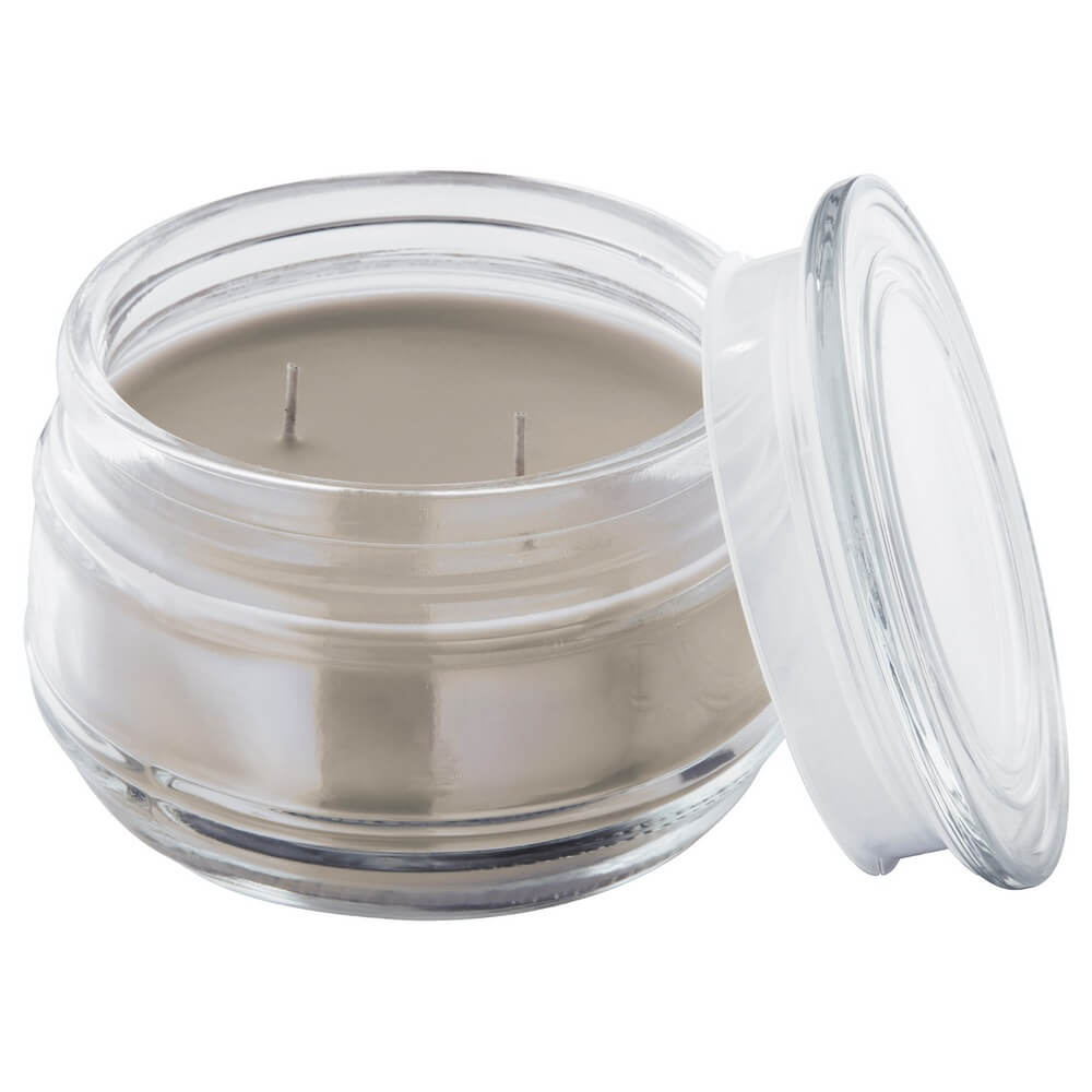 Ароматическая свеча в стакане (2 фитиля) ЛУГГА