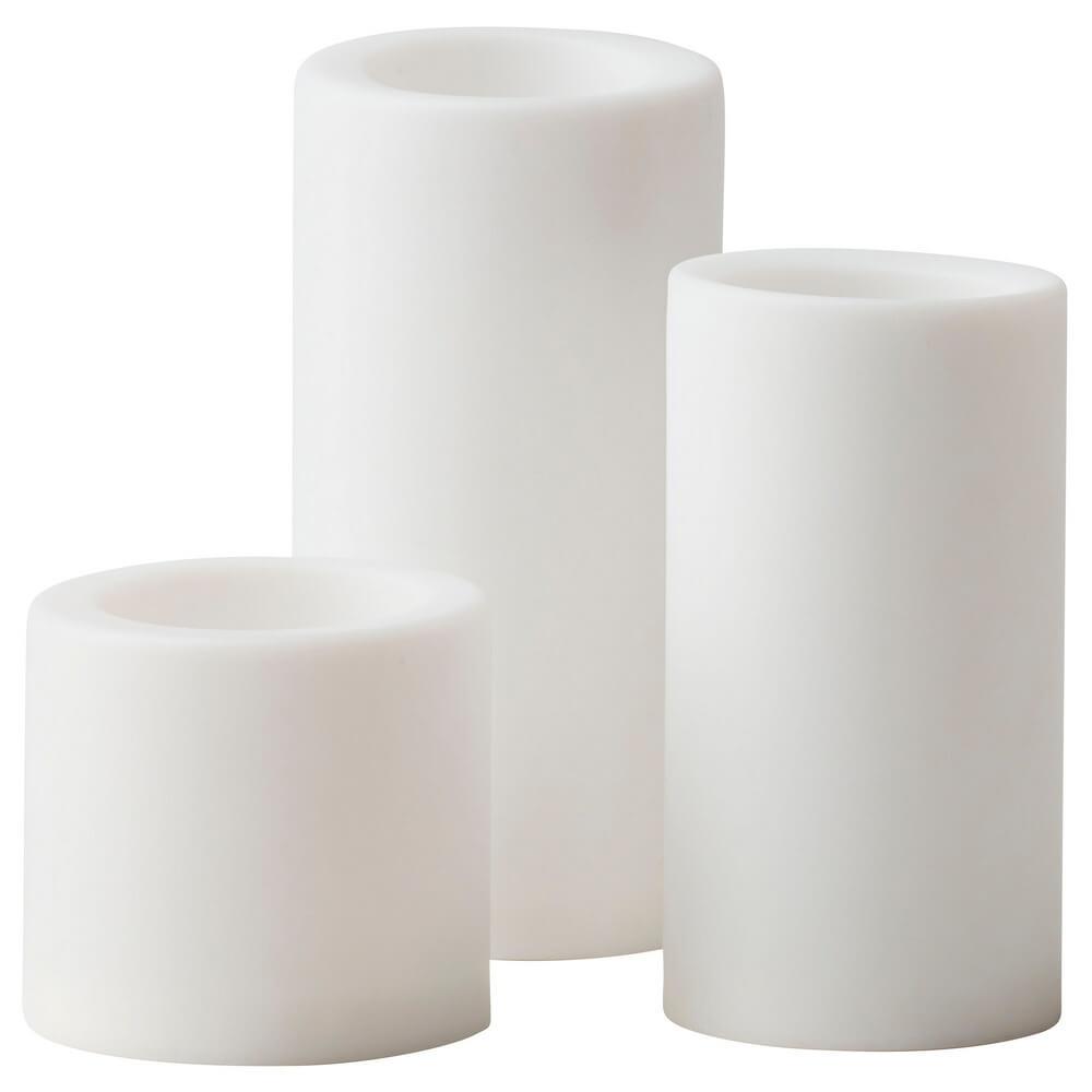 Светодиодная формовая свеча (3 штуки) СТОПЕН