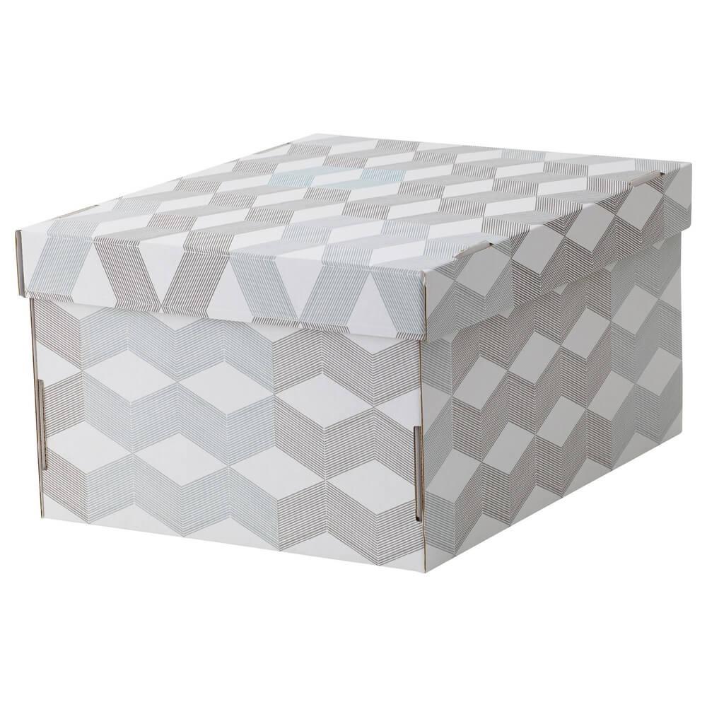 Коробка с крышкой СМЕКА