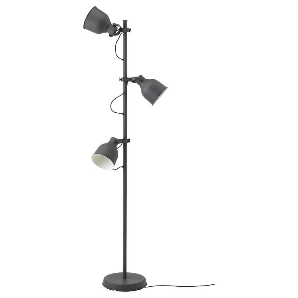 Светильник напольный с 3 лампами ХЕКТАР
