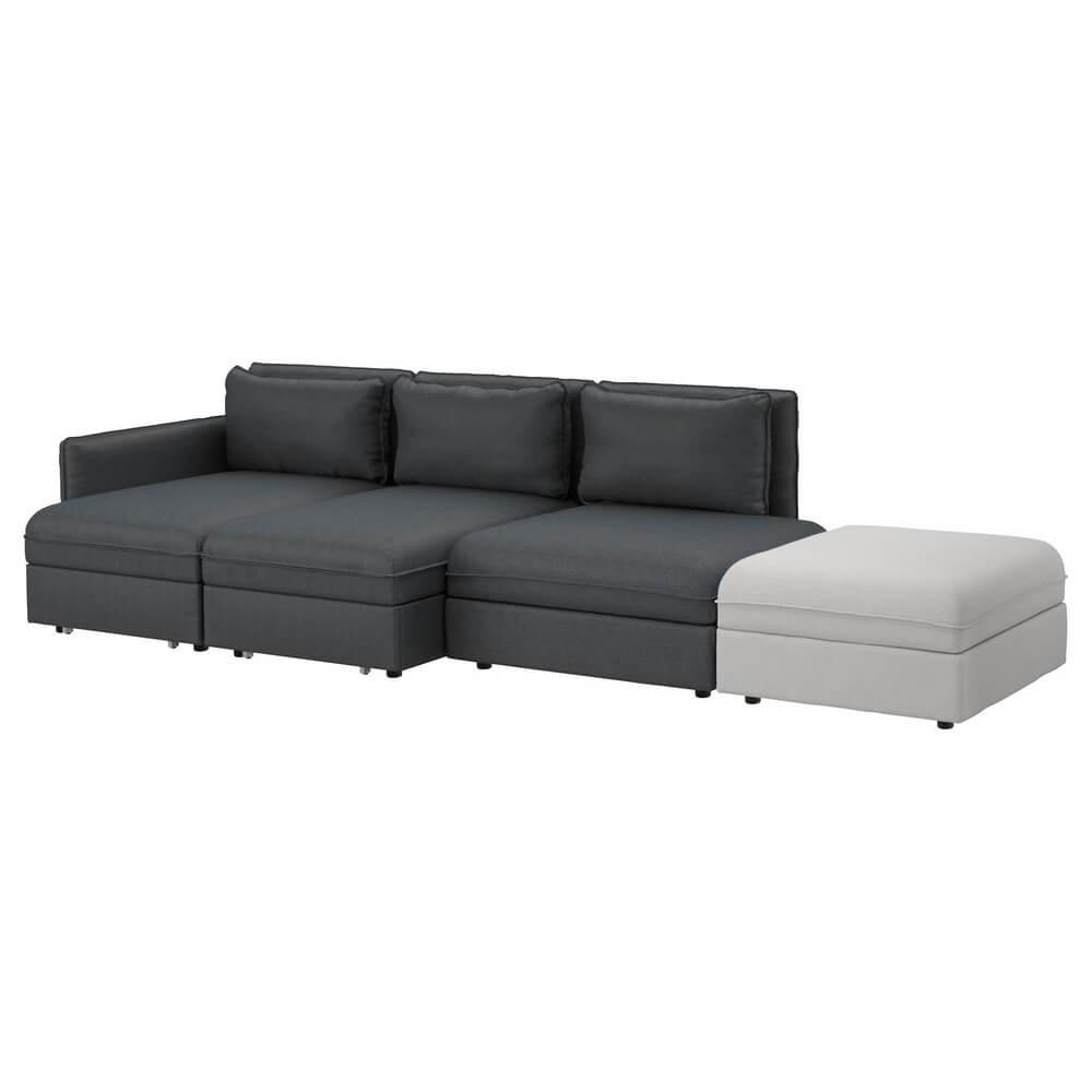 Четырехместный диван-кровать ВАЛЛЕНТУНА