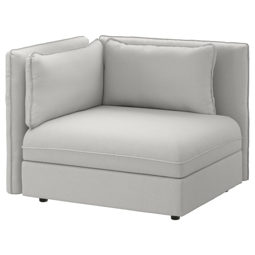 Секция дивана со спинкой ВАЛЛЕНТУНА