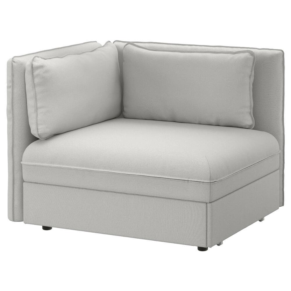 Секция дивана-кровати со спинкой ВАЛЛЕНТУНА