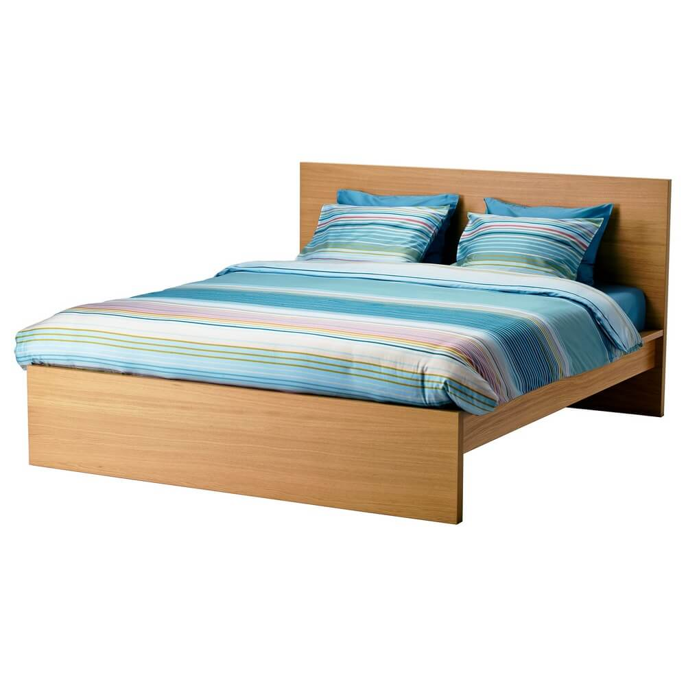 Высокий каркас кровати МАЛЬМ