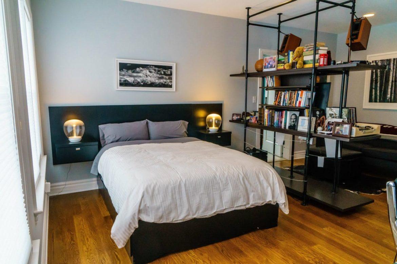 Уютный интерьер для небольшой спальни