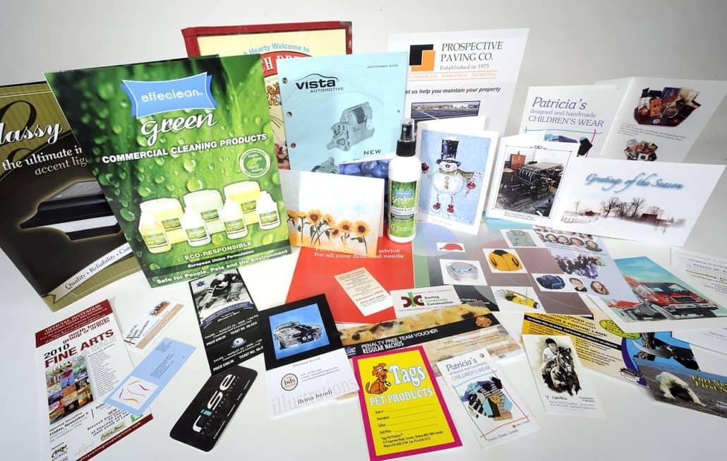 Основные виды печатной продукции
