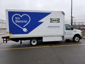 IKEA в США переведет свой парк доставки последней мили на электромобили