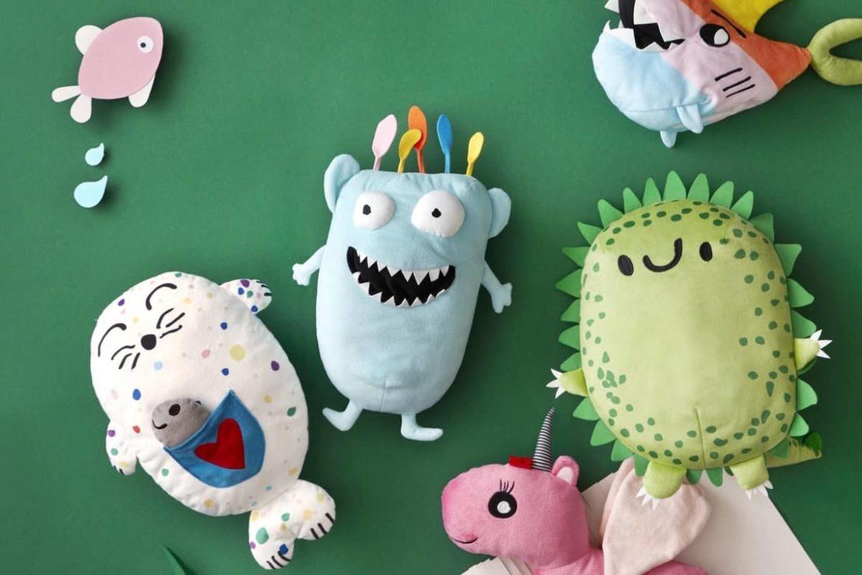 Отобраны рисунки для создания серии мягких игрушек