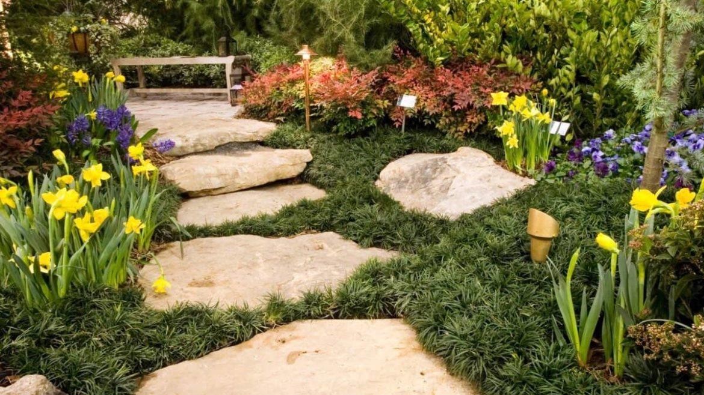 Материалы для мощения садовых дорожек
