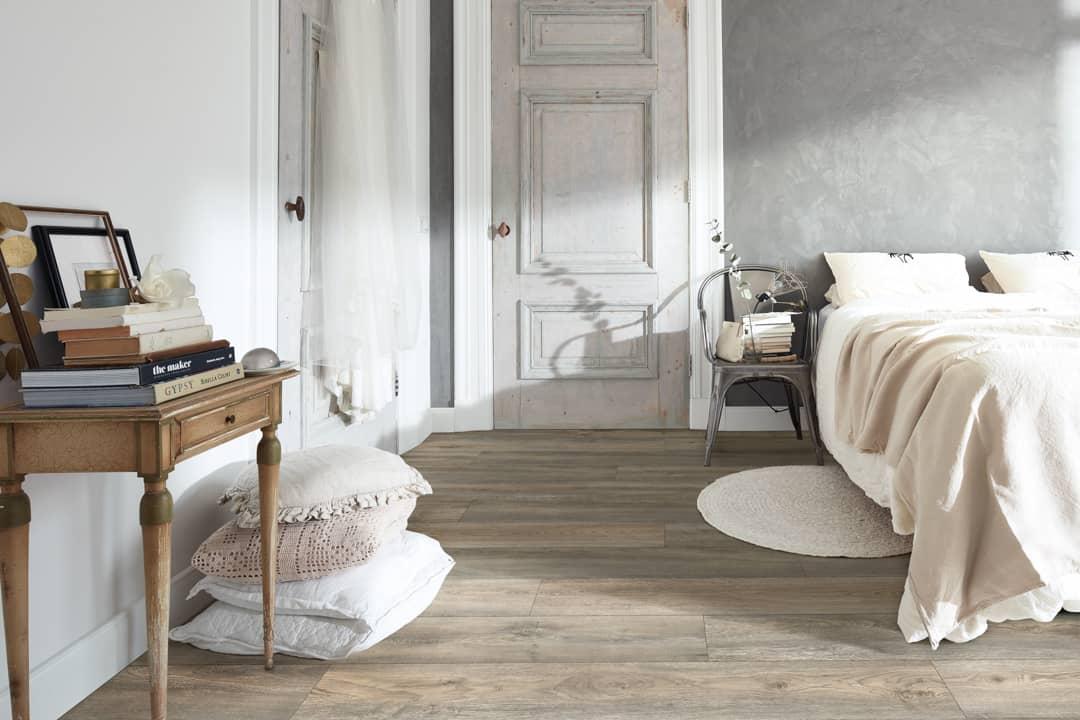 Спальня в стиле кинфолк