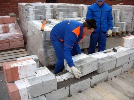 Пеноблоки используются в строительстве повсеместно